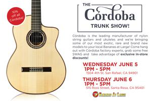 The Cordoba Trunk Show