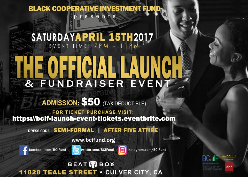 BCIF Launch Event E-Flyer