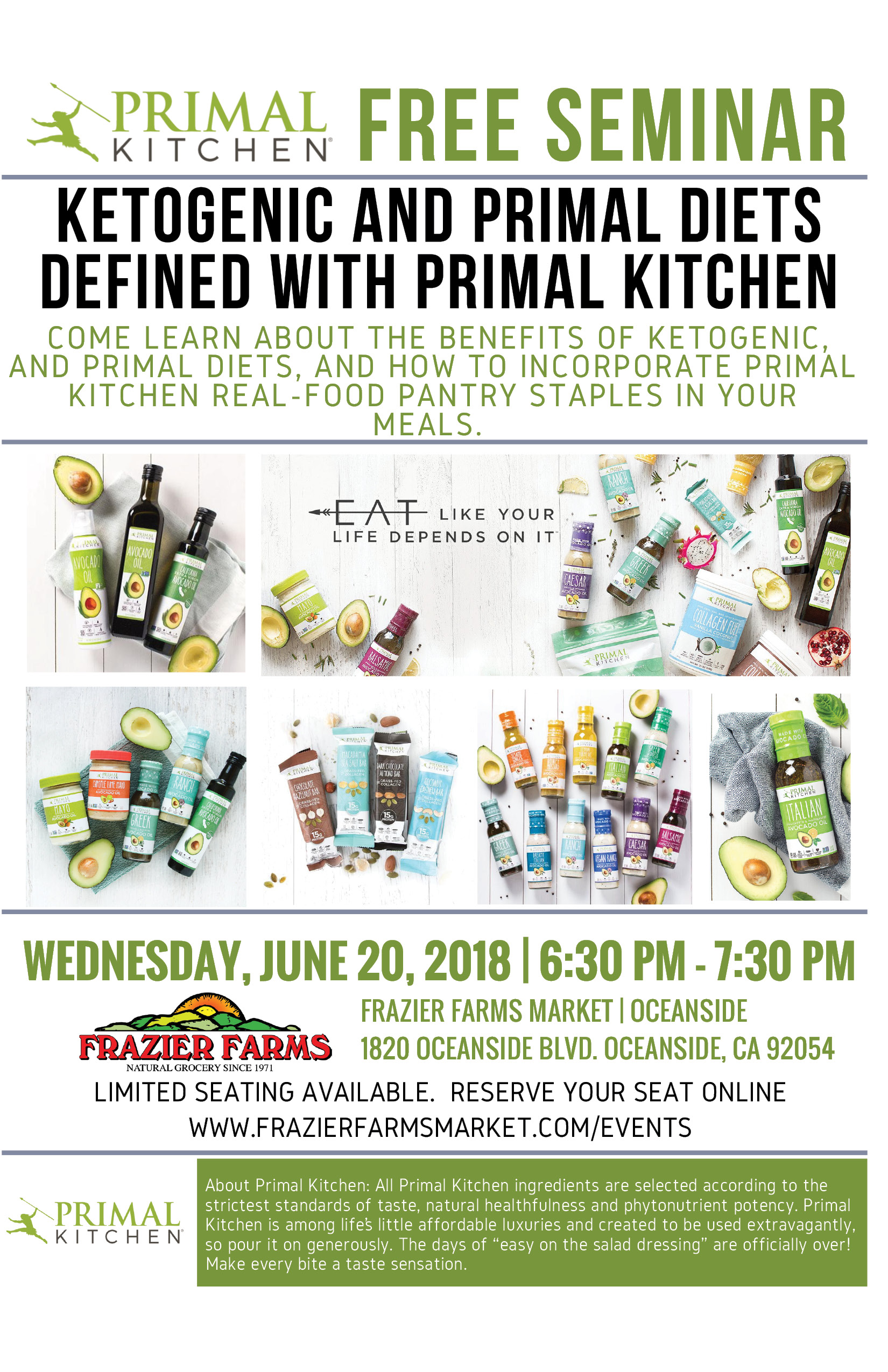 Free Seminar   Ketogenic and Primal Diets Defined with Primal ...