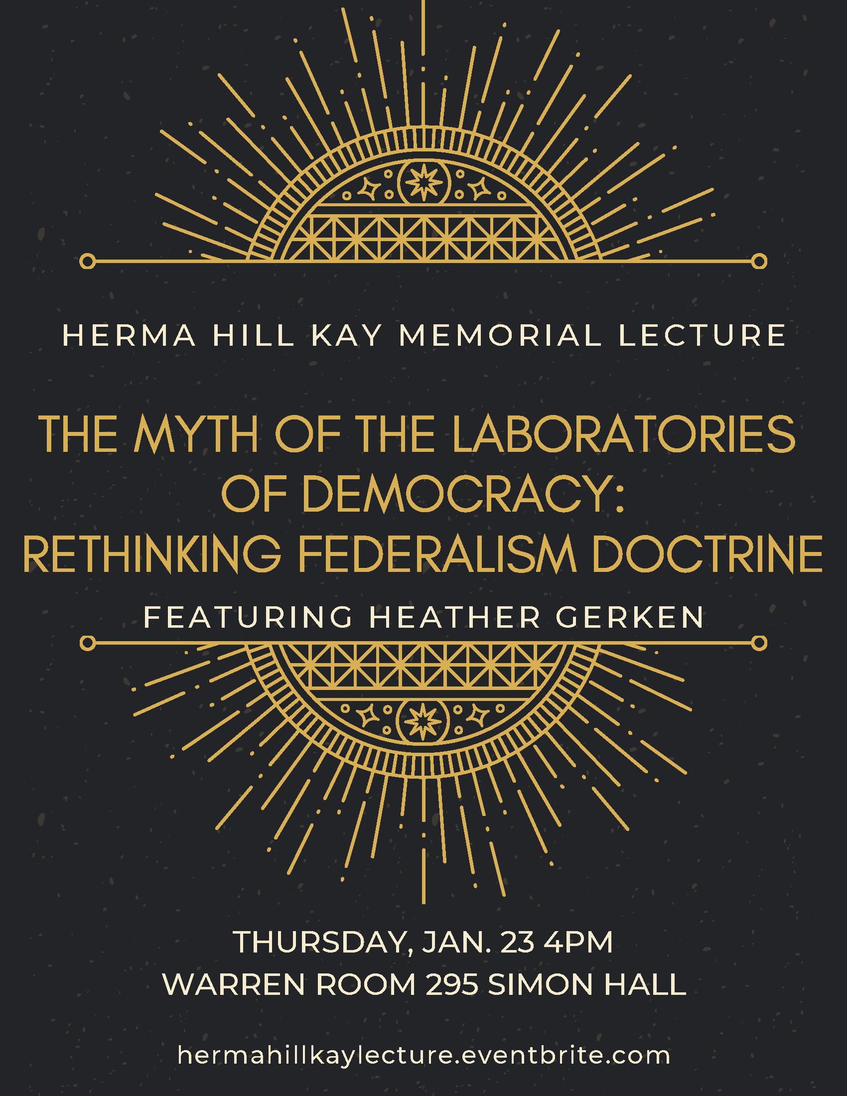HHK Memorial Lecture Flyer