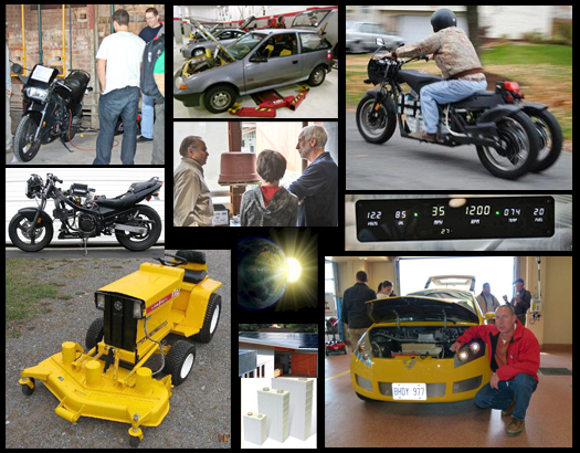 Samples of Electric Vehicles you will See at EV Fest 2012