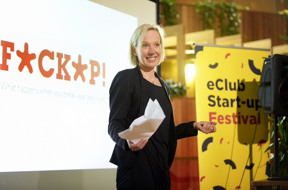 F**k Up Night, stories of failure - E Club Start-up Festival 2016