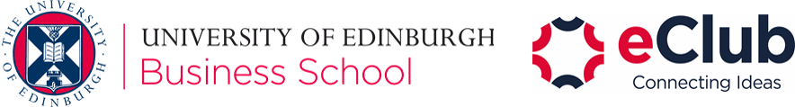 University of Edinburgh Business School and E Club logo