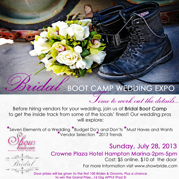Bridal Boot Camp Flyer