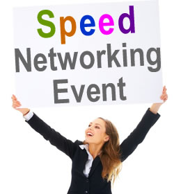 Business speed dating event