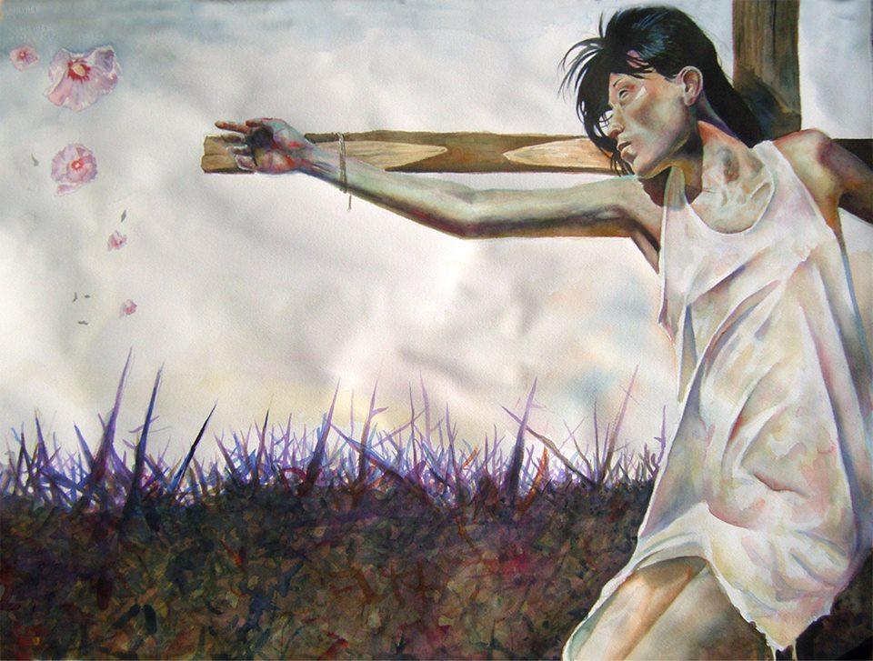 Artist: Steve Cavallo_ Title: Hope _ Size: 22x30 inches