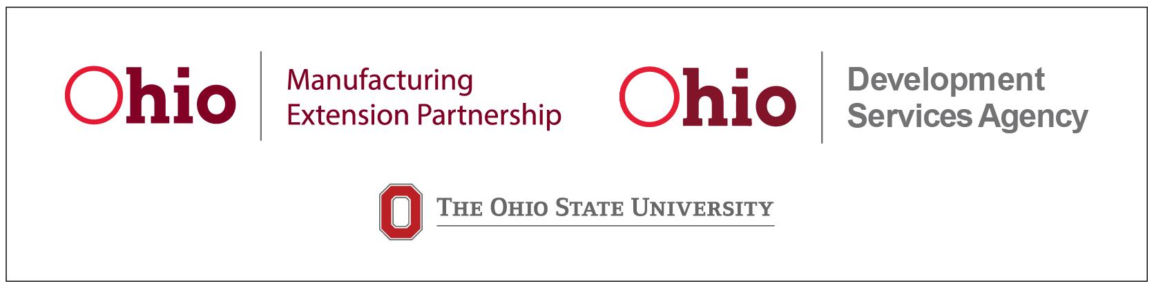 MEP Ohio Ohio Development Service Agency Ohio State CDME logos