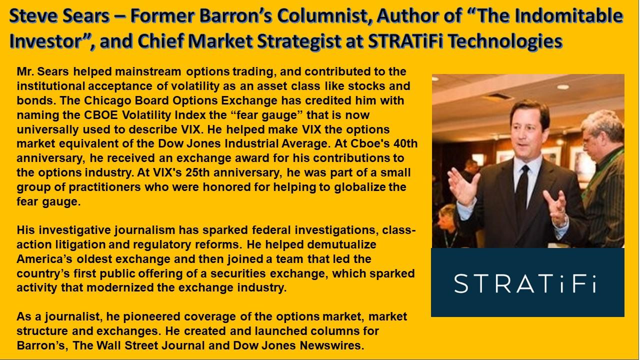 Steve Sears - Barron's