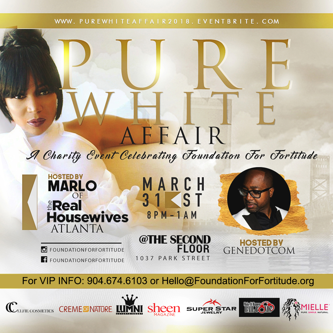 Foundation for Fortitude Pure White Affair 2018