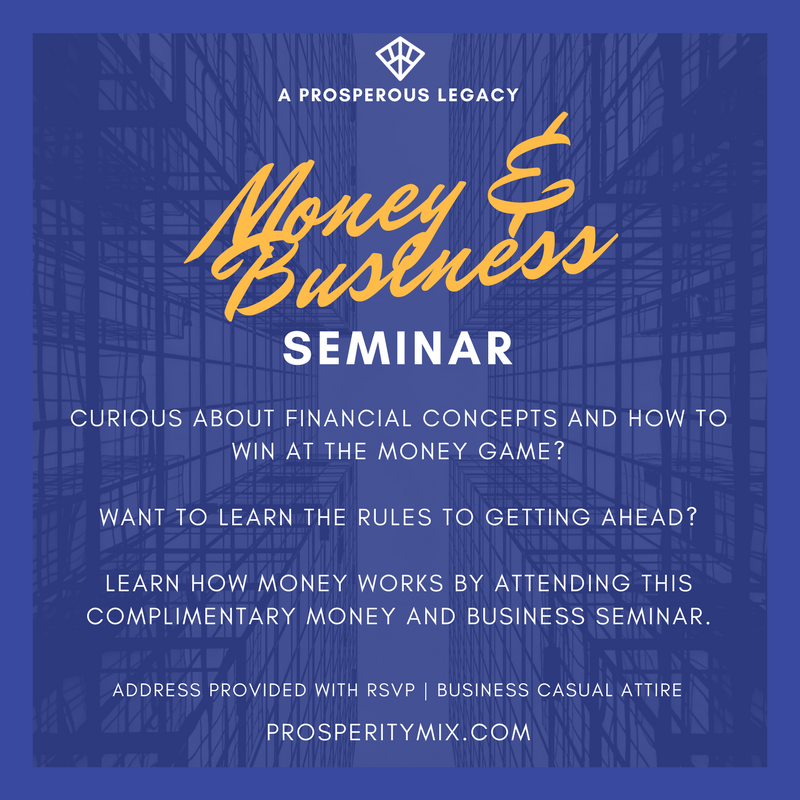 Money and Business Seminar
