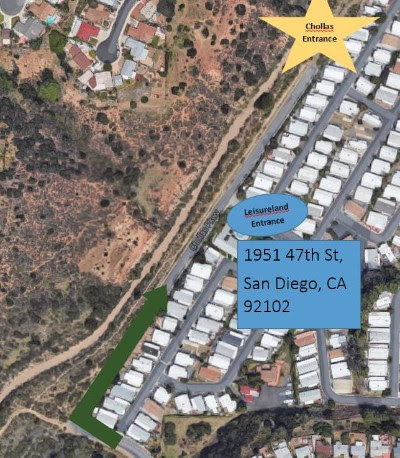 Chollas Creek Meetup Location