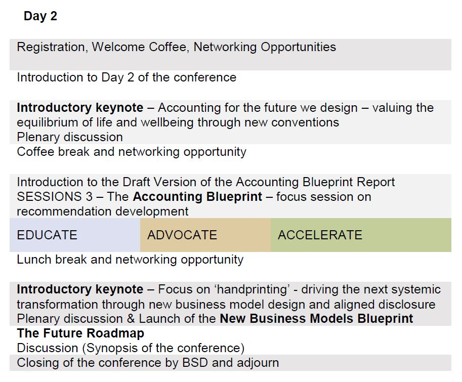 4th International Conference of the Reporting 30 Platform 2017 – Reporting Roadmap