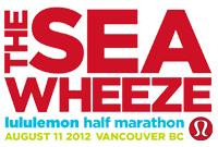 the SeaWheeze lululemon athletica half marathon Saturday,...