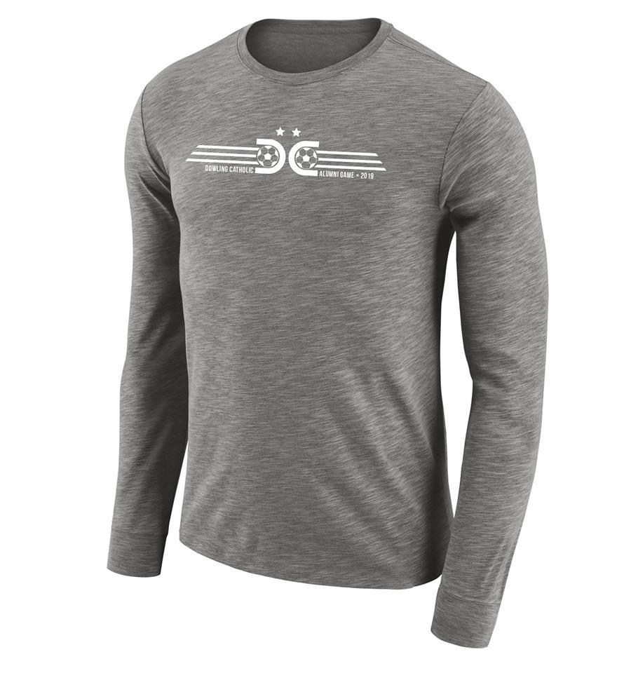 2019 Dri-Fit Grey (white logo)