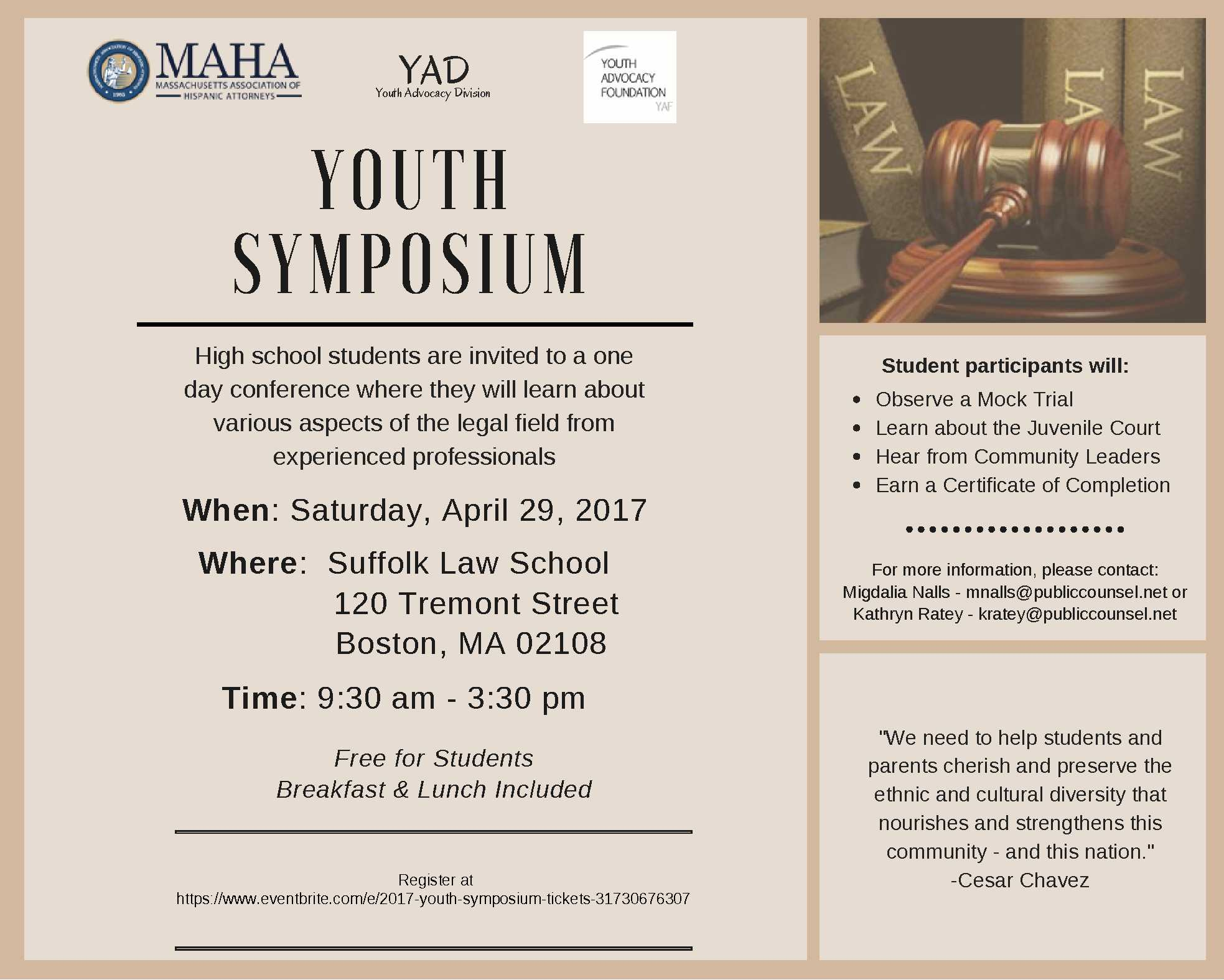 2017 Youth Symposium