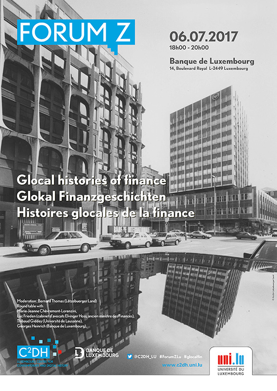 Affiche Glocal histories of finance