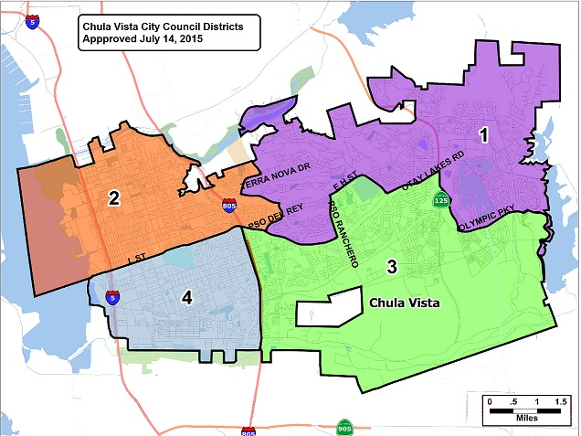 Chula Vista District Map