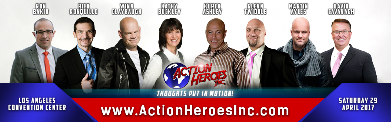 Action Heroes Inc. event in Los Angeles Saturday 29 April 2017