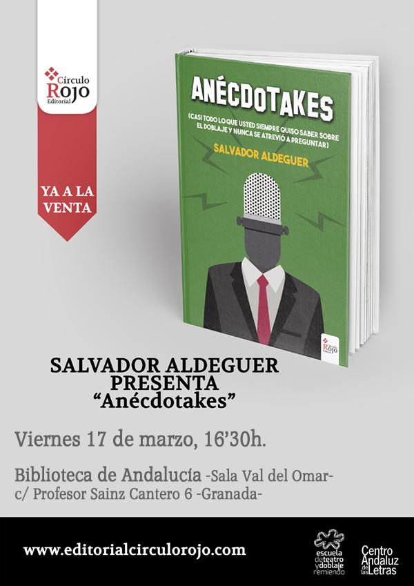 Anecdotakes - Presentación en Granada