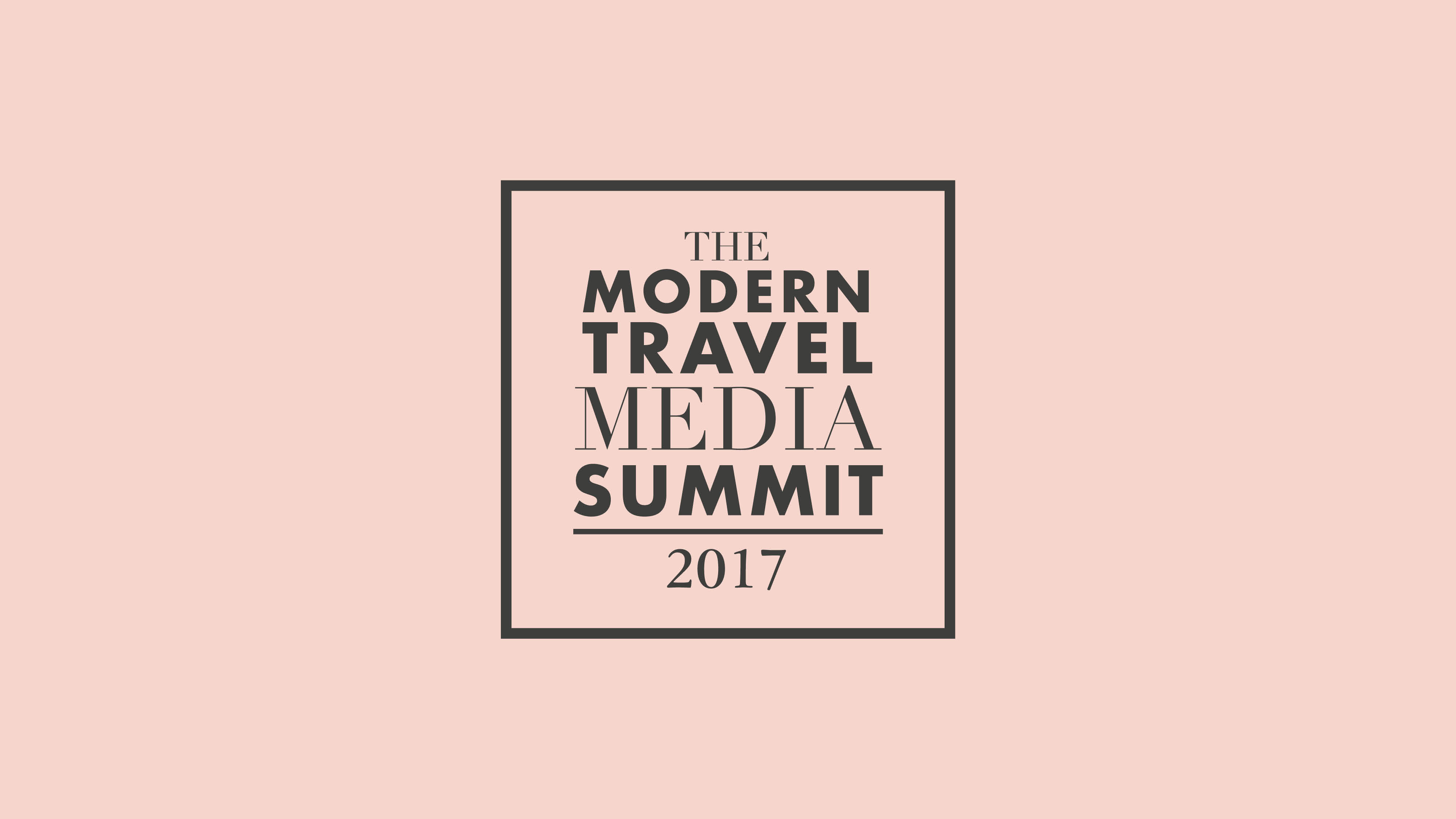 The Modern Travel Media Summit 2017 logo