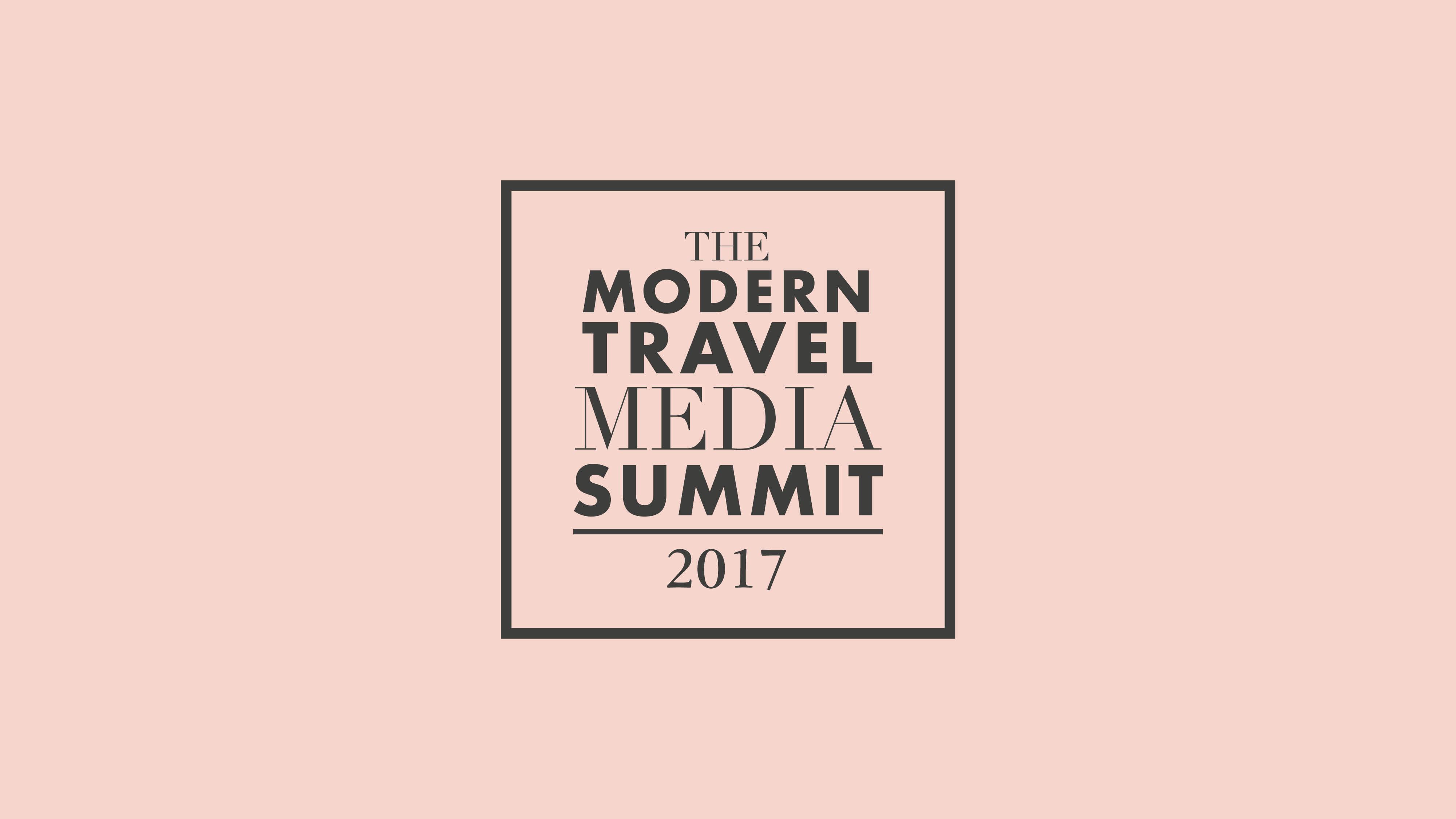 The Modern Travel Media Summit 2017 logo