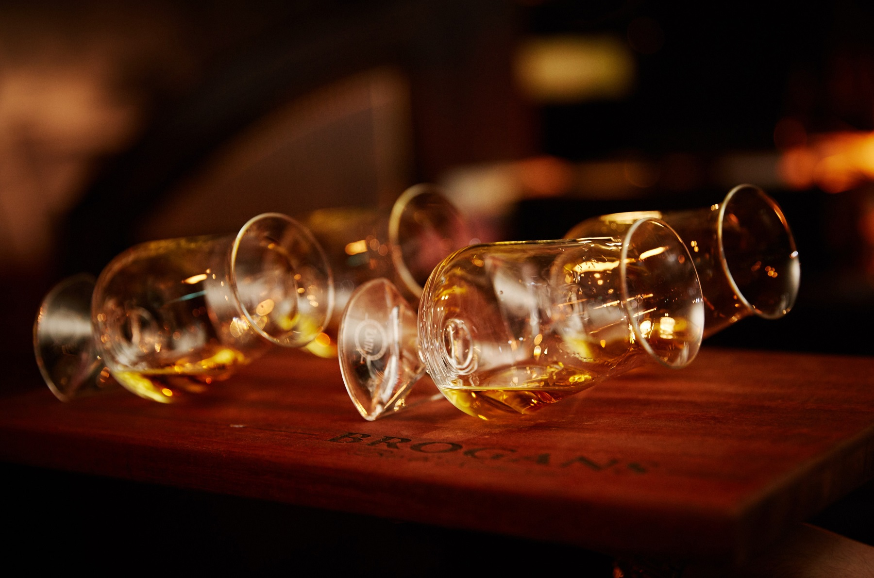 Ennis Whiskey Experience - Tuath Glasses