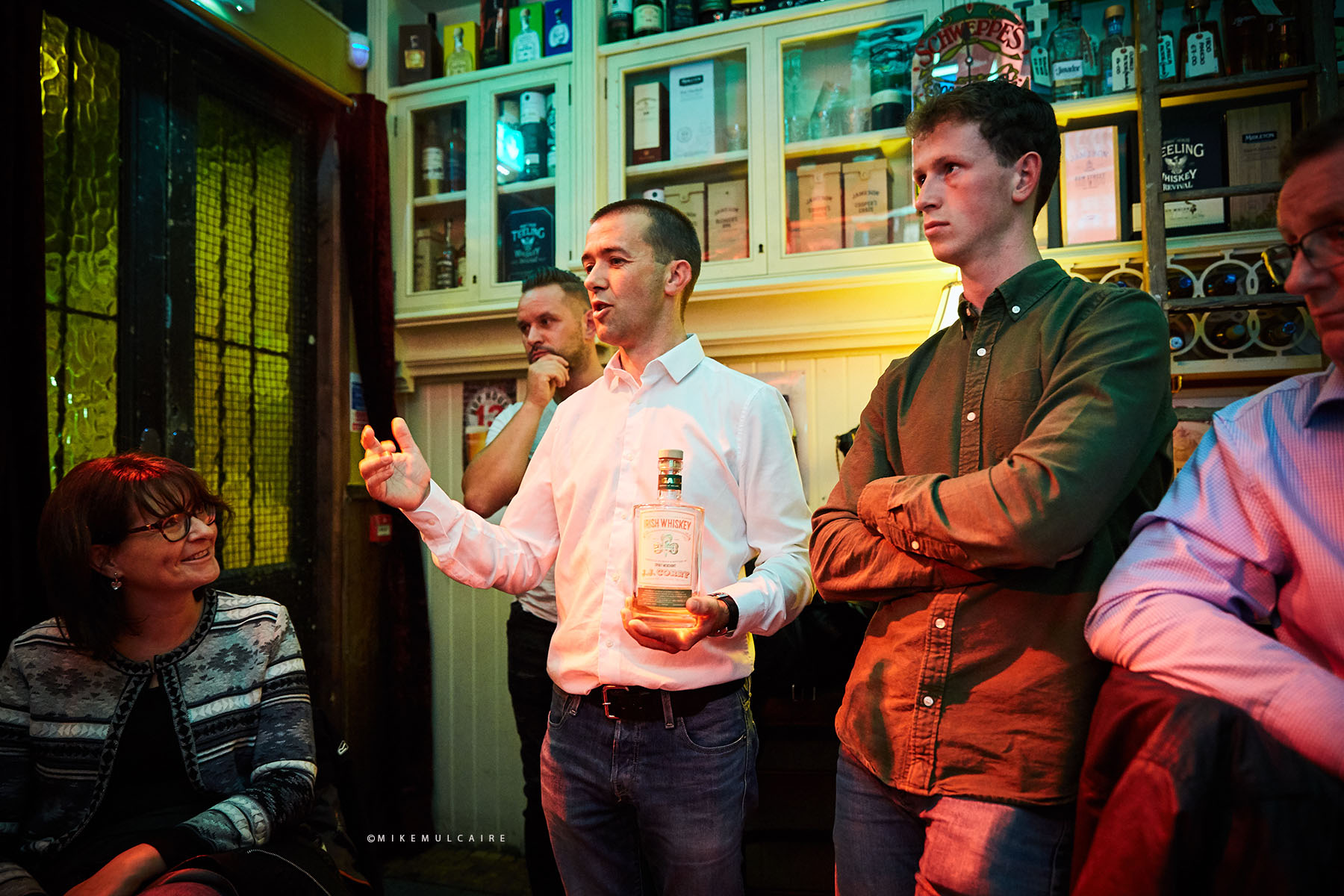 Eric Flynn of the Ennis Whiskey Experience