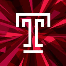Temple  New T logo