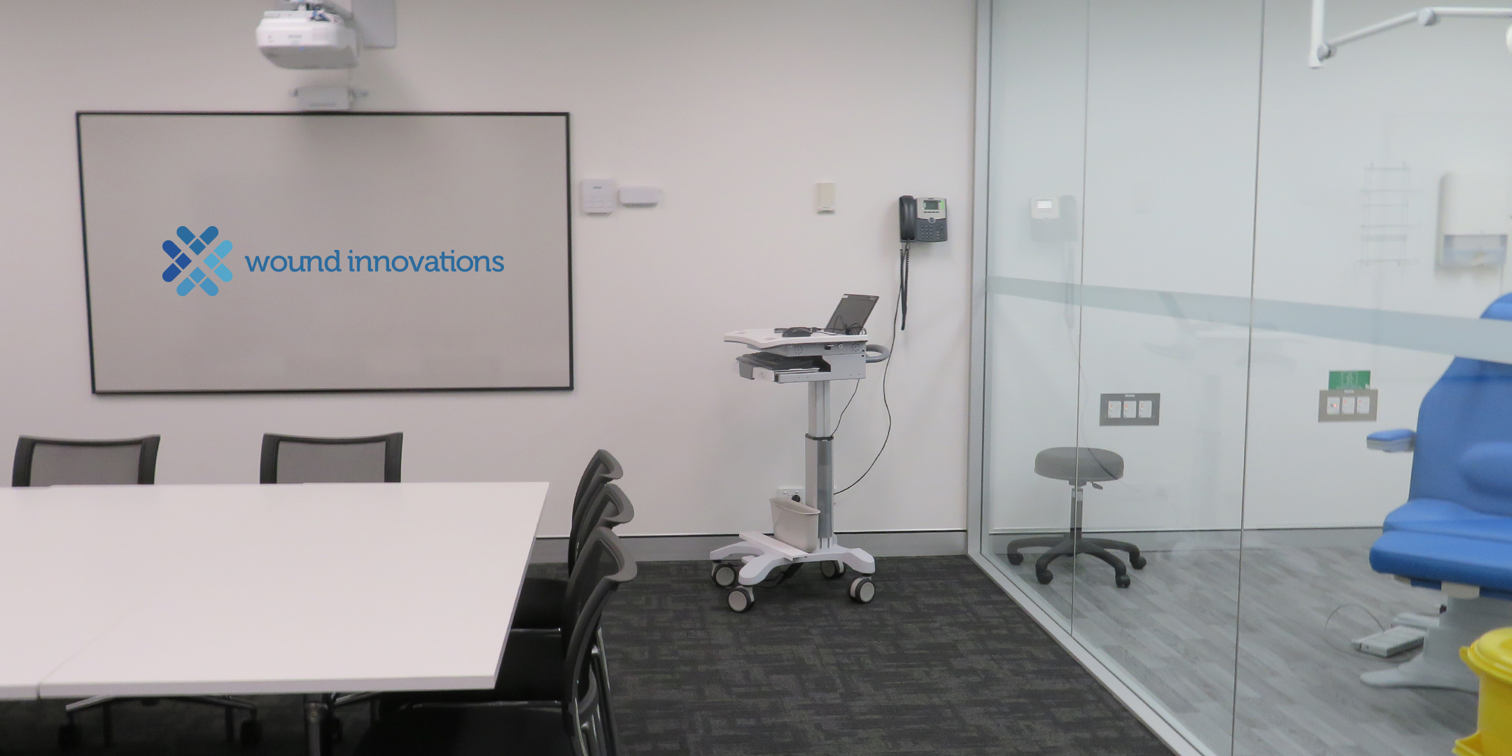 Wound Innovation Education facilities