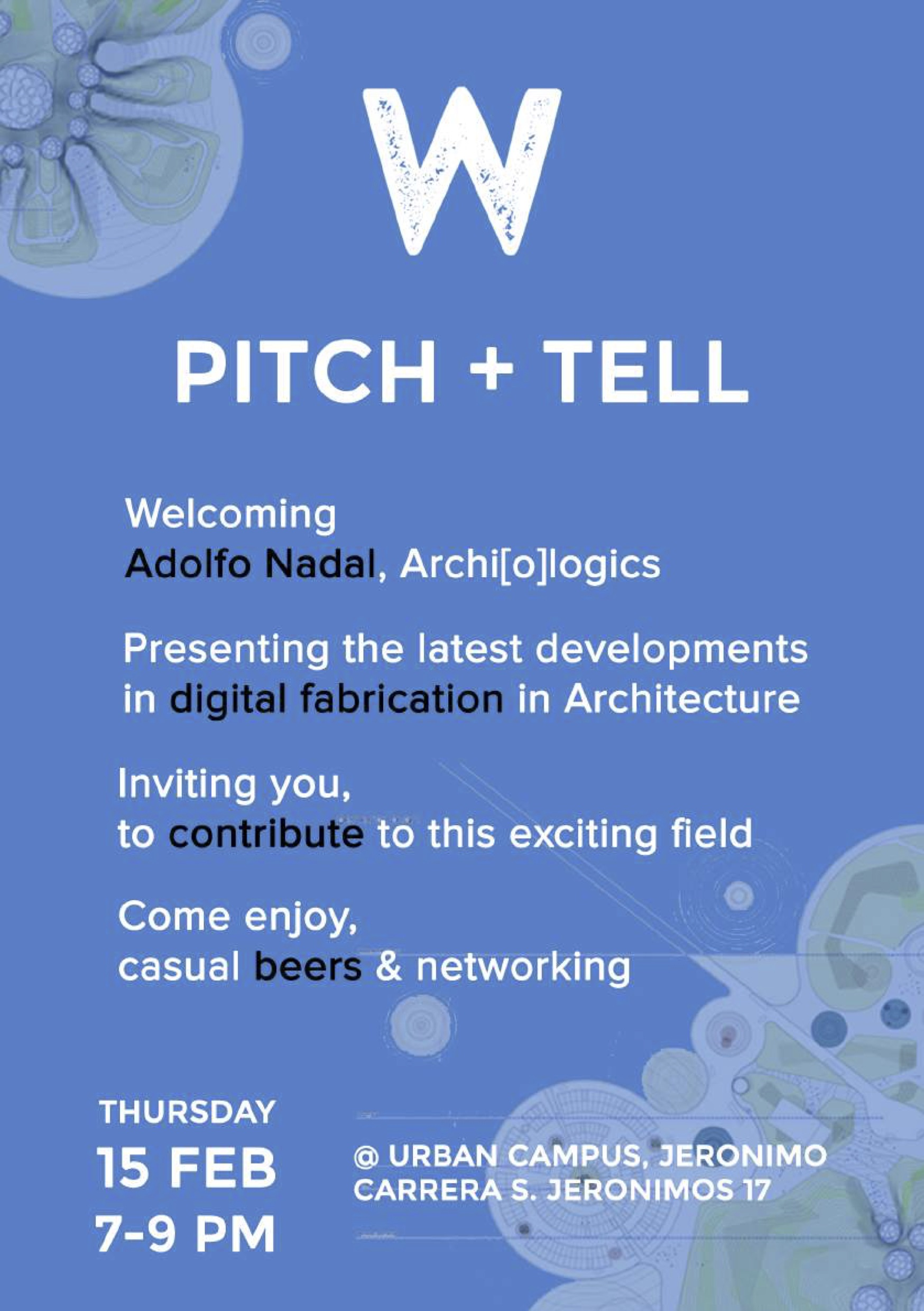 Wikifactory Pitch and Tell 15 Feb