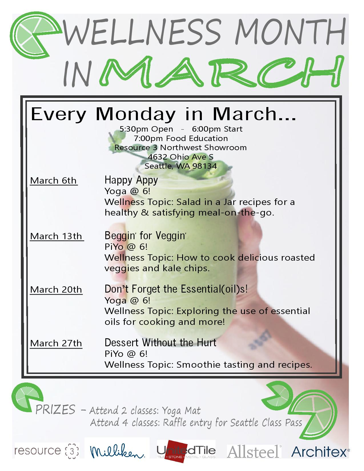 Wellness Month in March