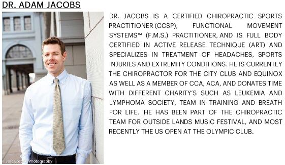 DR ADAM JACOBS BIO