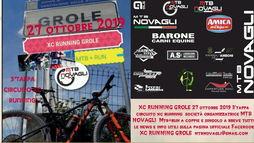 Evento XC-Running-Grole 2019