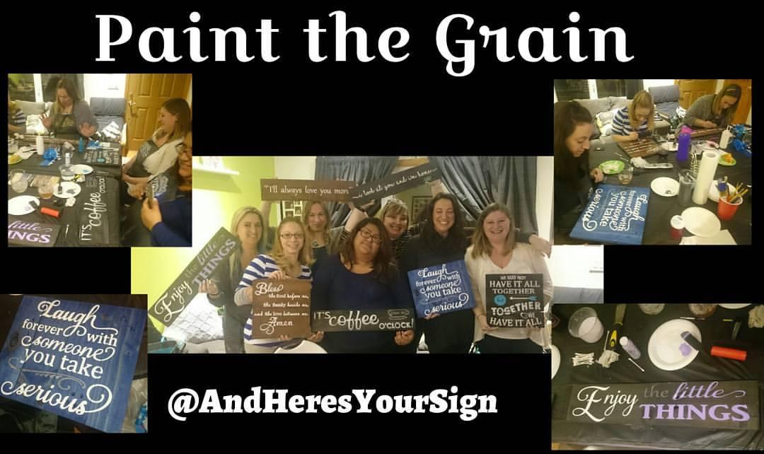 Paint The Grain Party