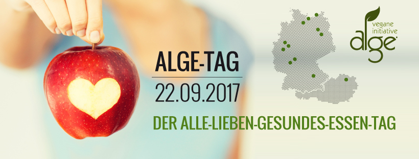 Am 22.09.2017 ist Alge-Tag