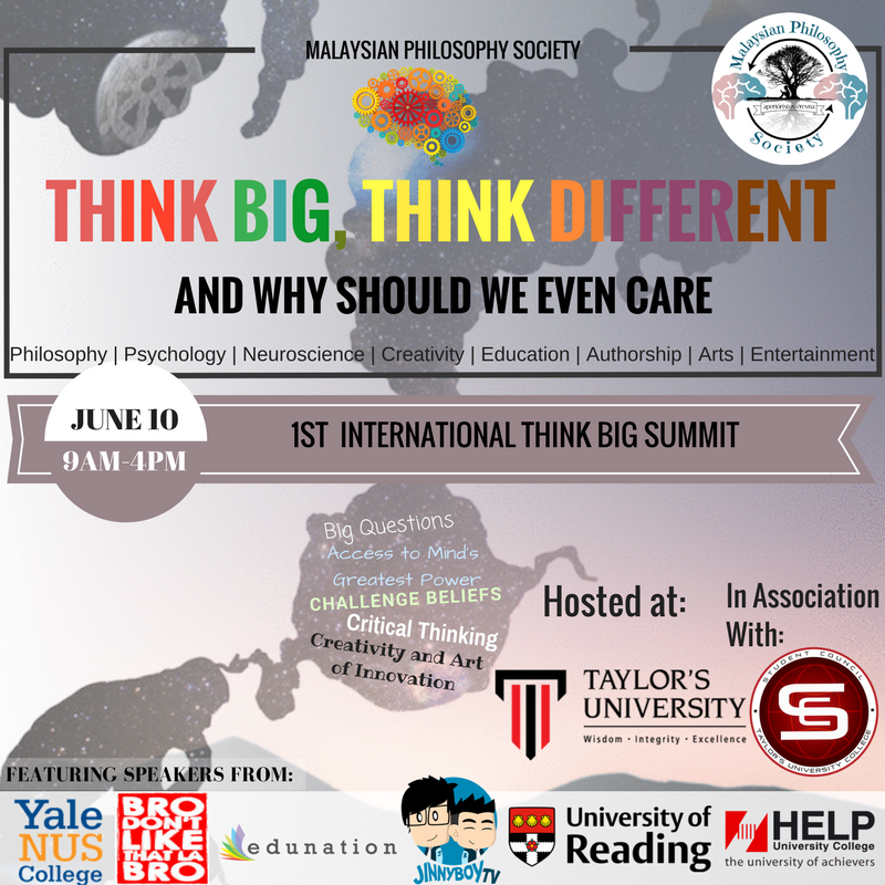 International Think Big Summit 2017 Official Poster