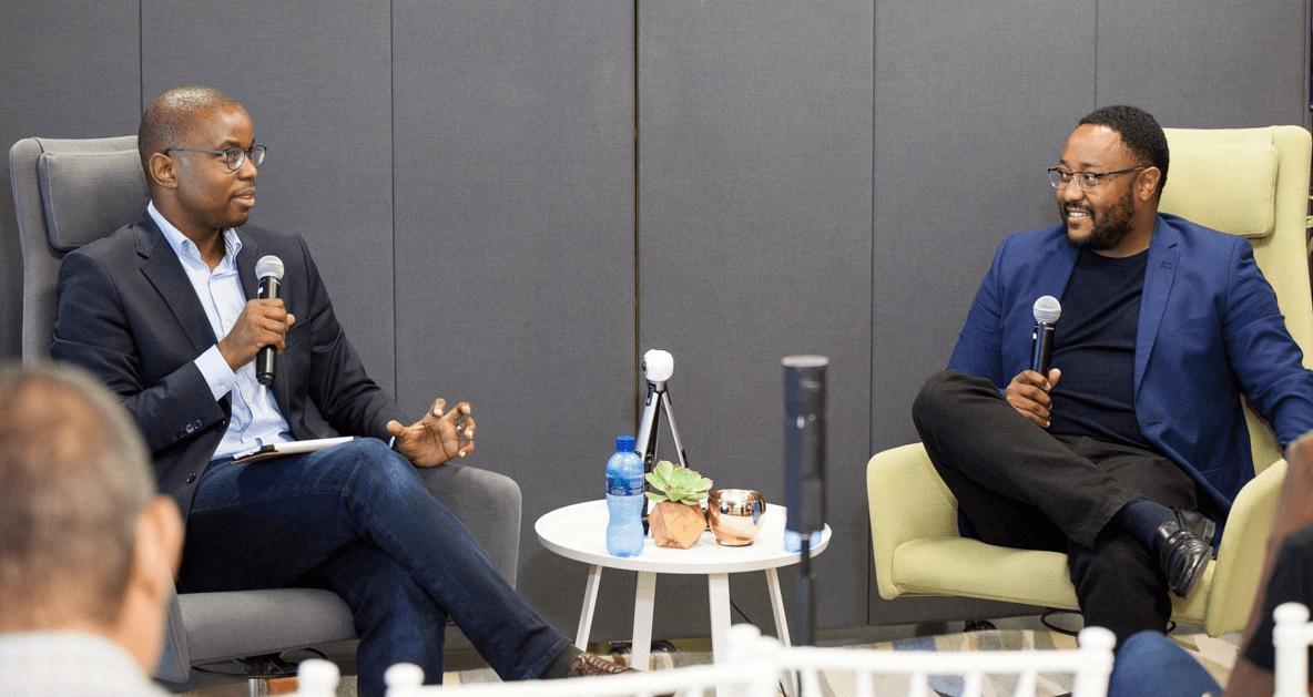 Andile Masuku and Musa Kalenga African Tech Roundup Podcast Hosts