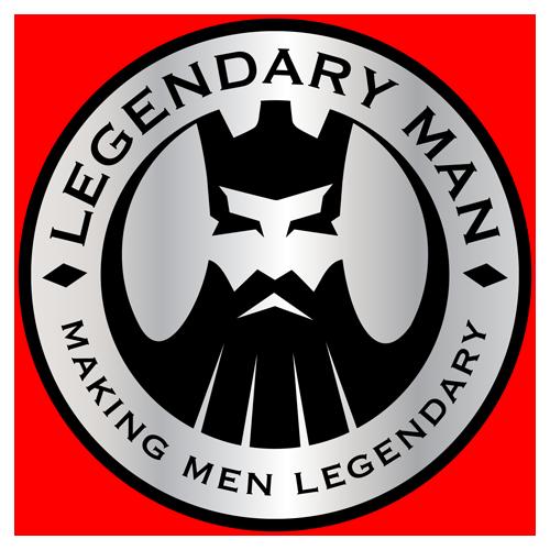 Legednary Man logo