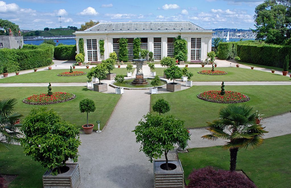 The Orangery at mount Edgcumbe Country park
