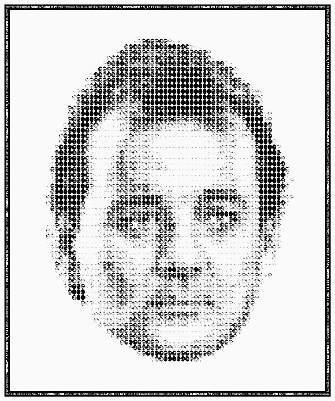Bill Murray Groundhog Day film poster