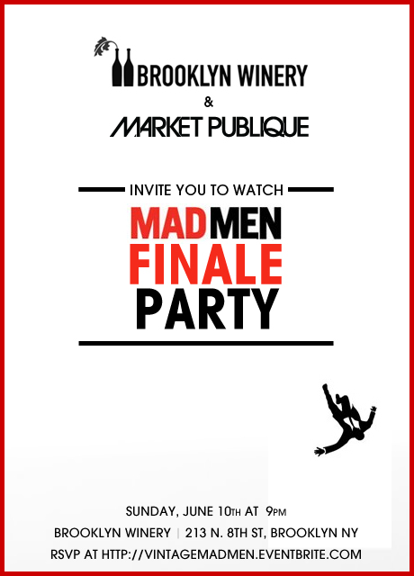 MadMen Finale Party