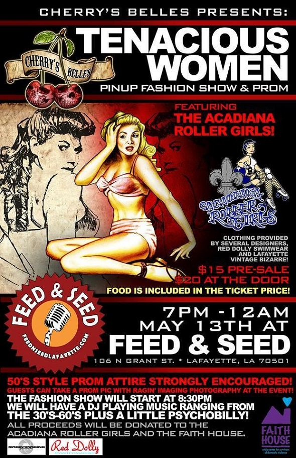 Tenacious Women Event Poster