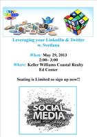 Leveraging Your LinkedIn & Twitter w. Svetlana