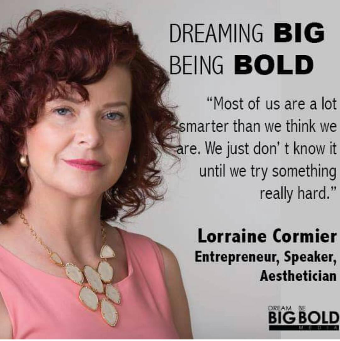 Speaker Lorraine Cormier