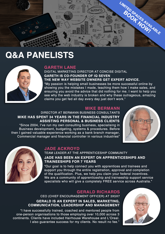 Q&A Panelists