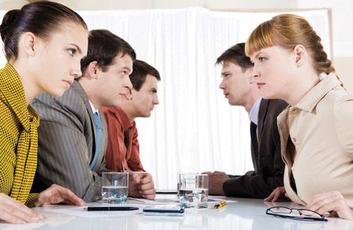 Conflict in Meeting