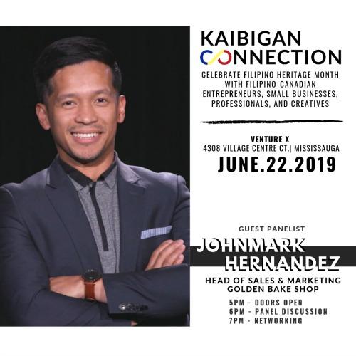 Kaibigan Connection Panelist John Mark Hernandez