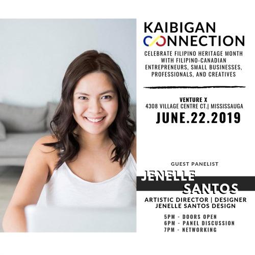 Kaibigan Connection Panelist - Janelle Santos