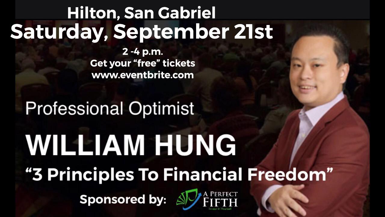 Motivator Speaker William Hung