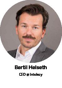 Bertil Helseth, CEO @ Intelecy